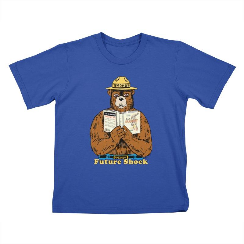 Future Shock  Kids T-shirt by rjamadoart's Artist Shop