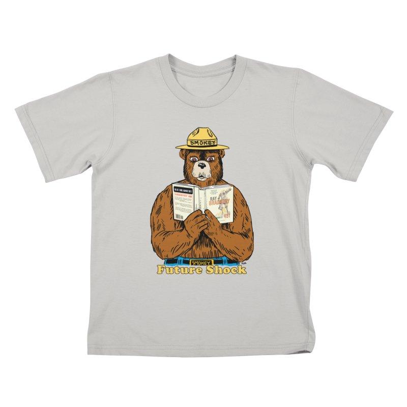 Future Shock  Kids T-Shirt by Pigment World Artist Shop