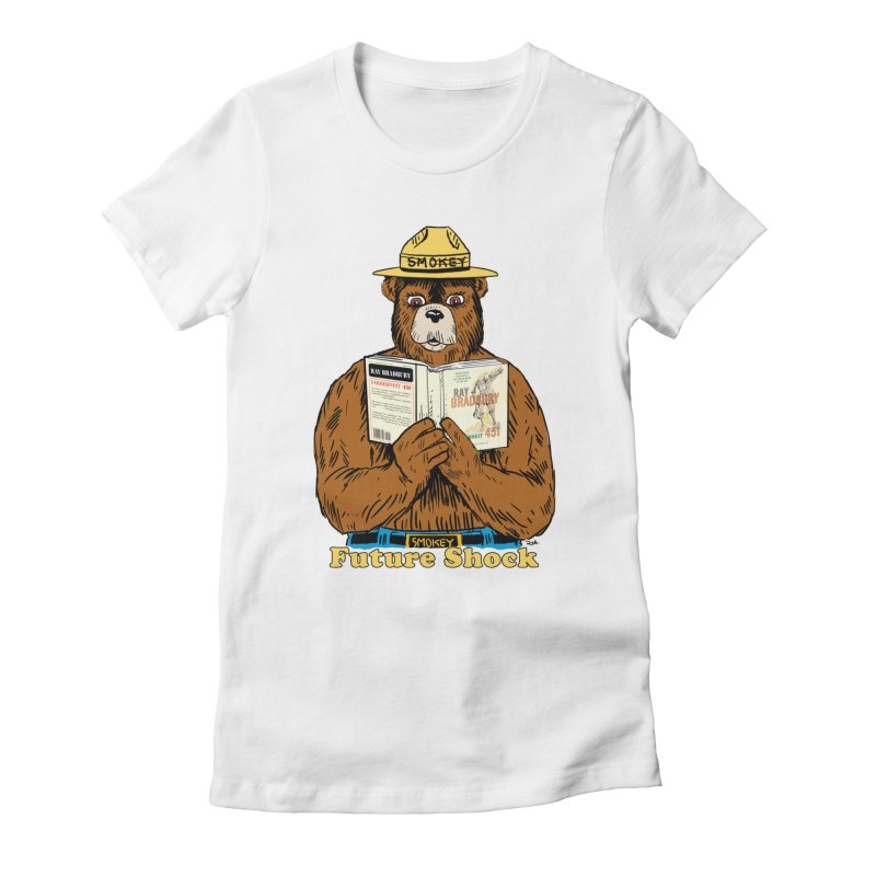 Future Shock  Women's Fitted T-Shirt by Pigment World Artist Shop