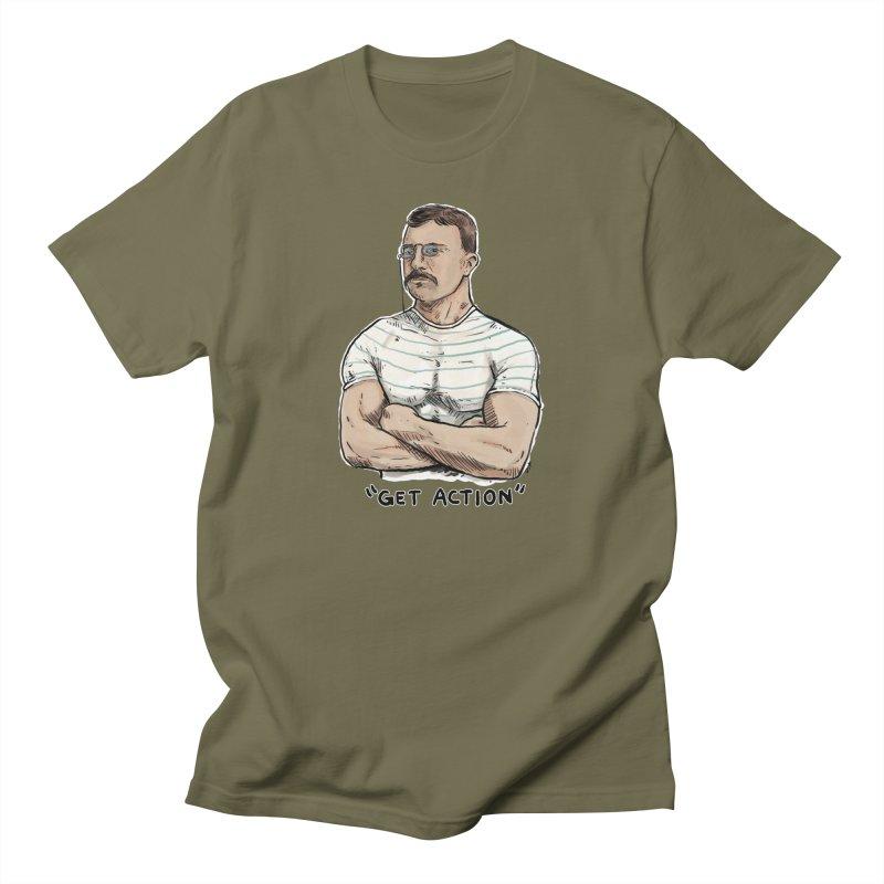 Get Action Men's T-Shirt by Pigment World Artist Shop