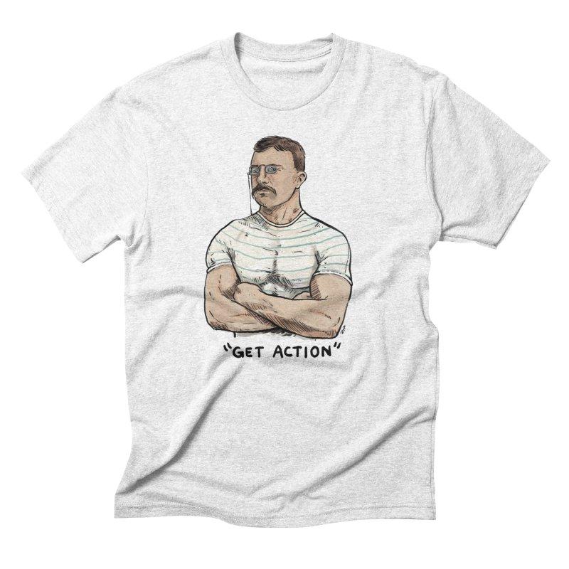 Get Action Men's Triblend T-shirt by rjamadoart's Artist Shop