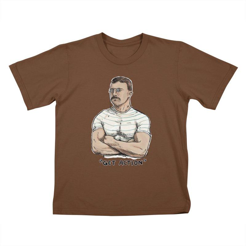 Get Action Kids T-shirt by rjamadoart's Artist Shop