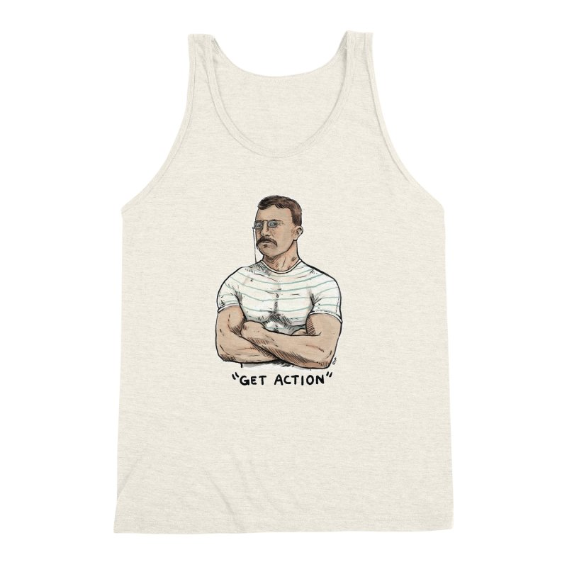 Get Action Men's Triblend Tank by rjamadoart's Artist Shop