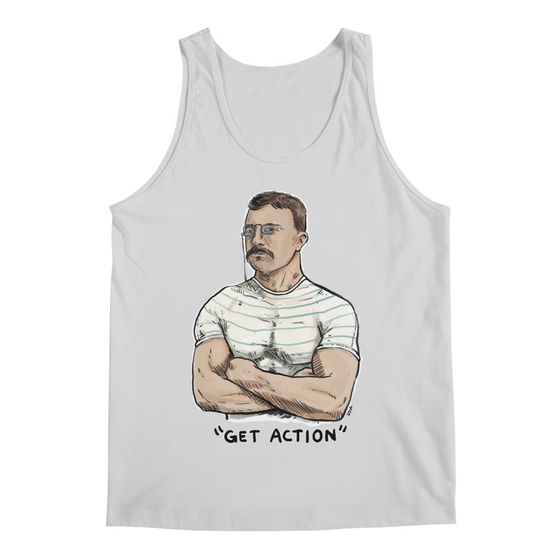 Get Action Men's Regular Tank by Pigment World Artist Shop