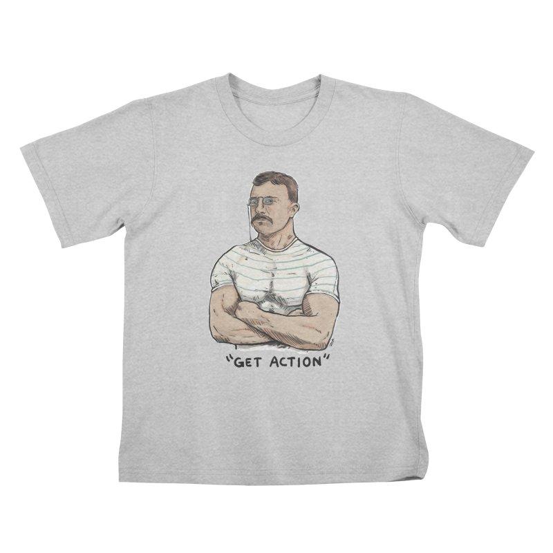 Get Action Kids T-Shirt by Pigment World Artist Shop