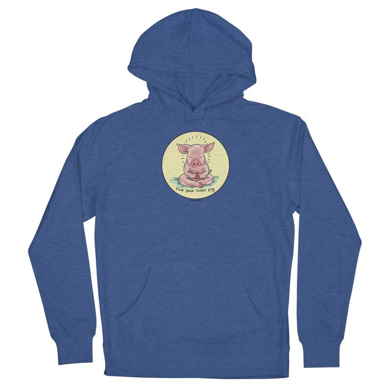 Inner Pig (Color)  Women's Pullover Hoody by Pigment World Artist Shop