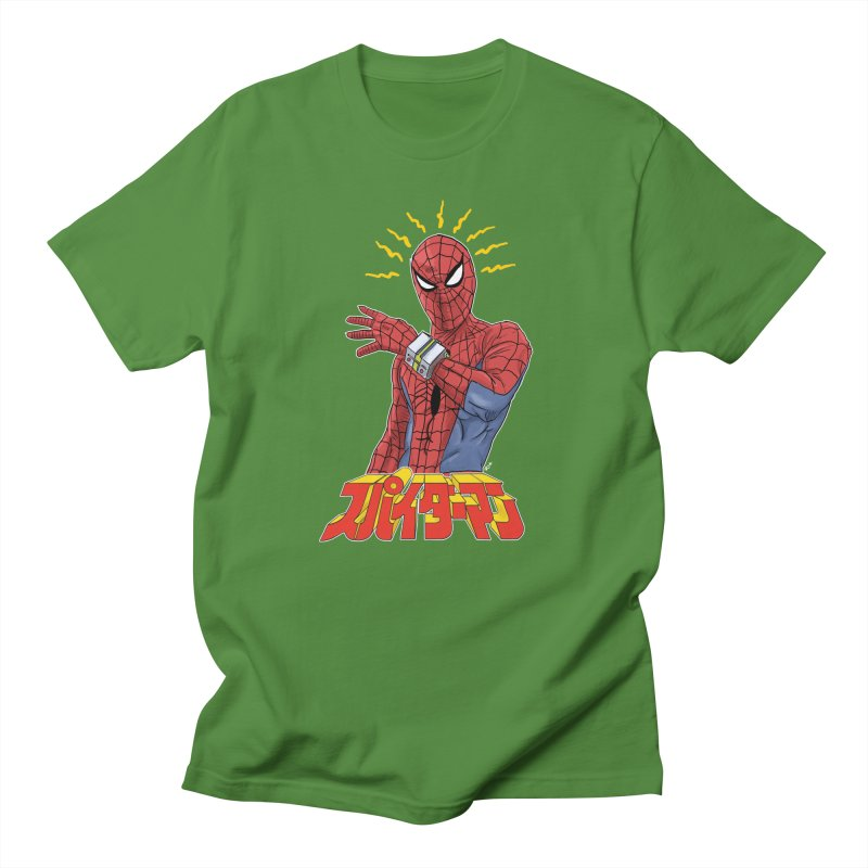 Japan Retro TV Men's T-Shirt by Pigment World Artist Shop