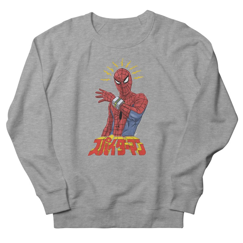 Japan Retro TV Men's French Terry Sweatshirt by Pigment World Artist Shop