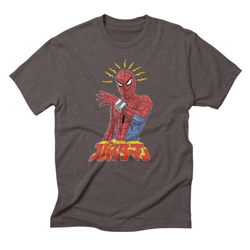 Japan Retro TV Men's Triblend T-Shirt by Pigment World Artist Shop
