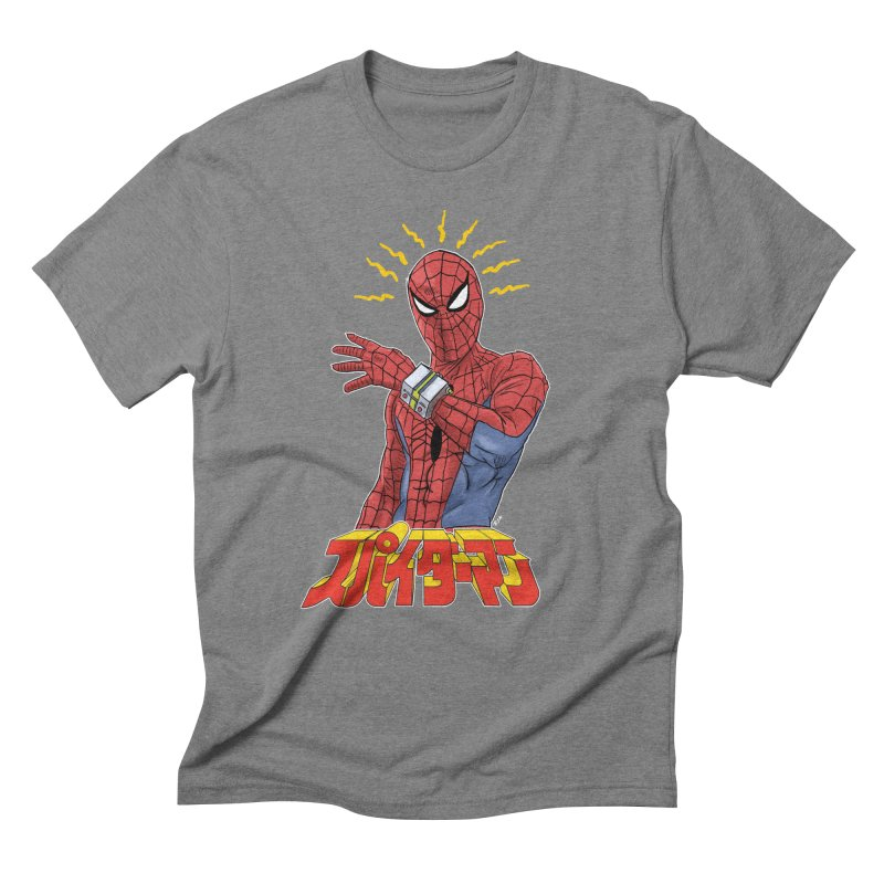 Japan Retro TV Men's Triblend T-shirt by rjamadoart's Artist Shop