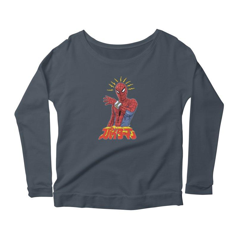 Japan Retro TV Women's Longsleeve T-Shirt by Pigment World Artist Shop