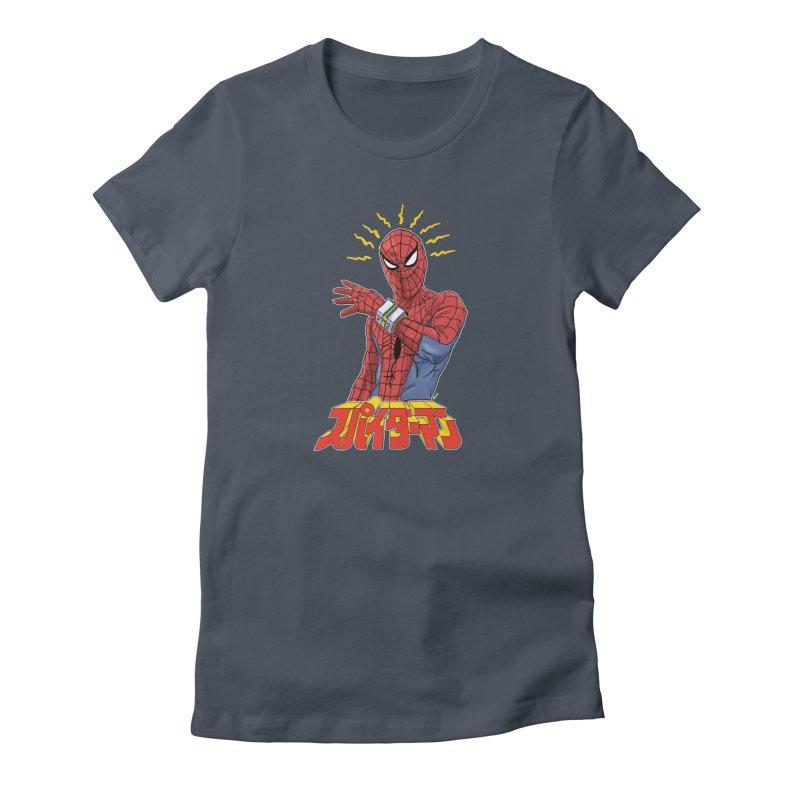 Japan Retro TV Women's T-Shirt by Pigment World Artist Shop