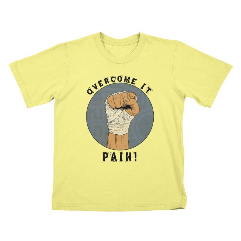 Overcome Pain  Kids T-shirt by rjamadoart's Artist Shop