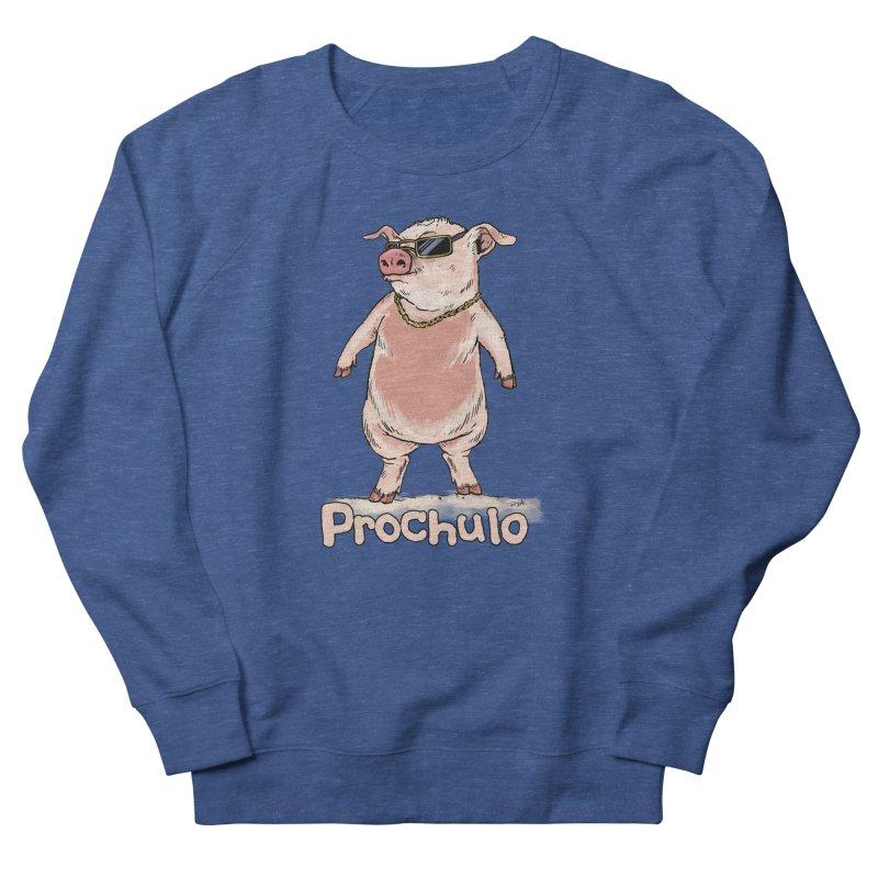 Proschulo Men's French Terry Sweatshirt by Pigment World Artist Shop