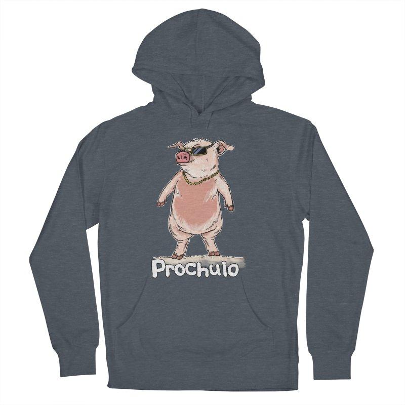 Proschulo Dark  Men's Pullover Hoody by Pigment World Artist Shop