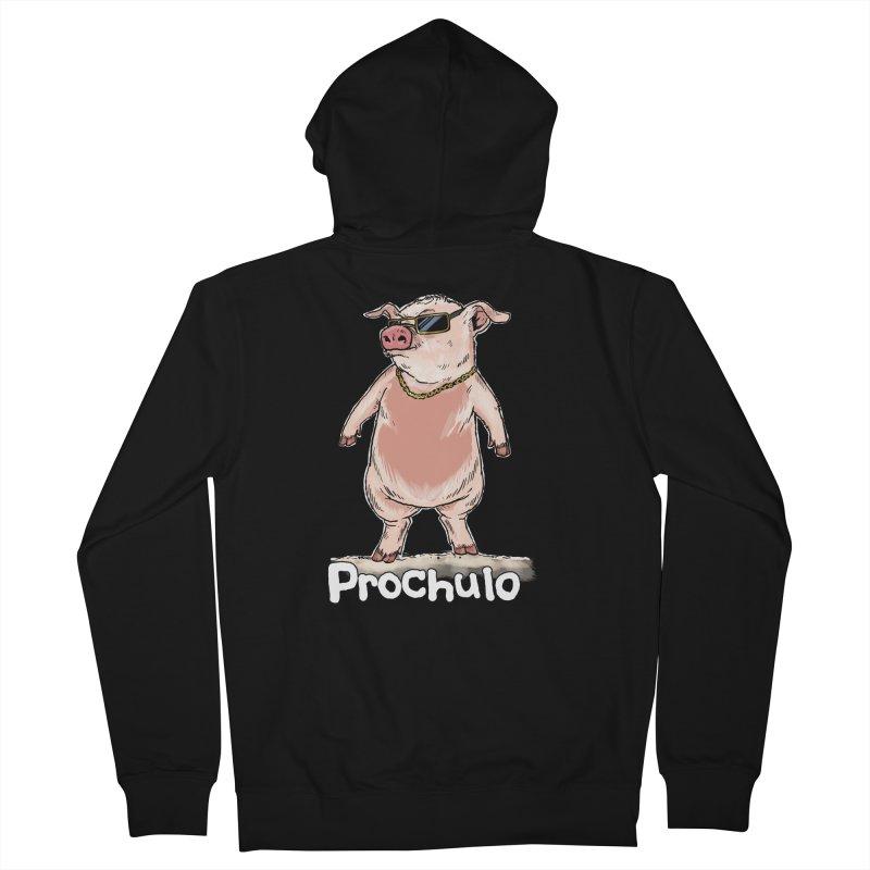 Proschulo Dark  Men's Zip-Up Hoody by rjamadoart's Artist Shop