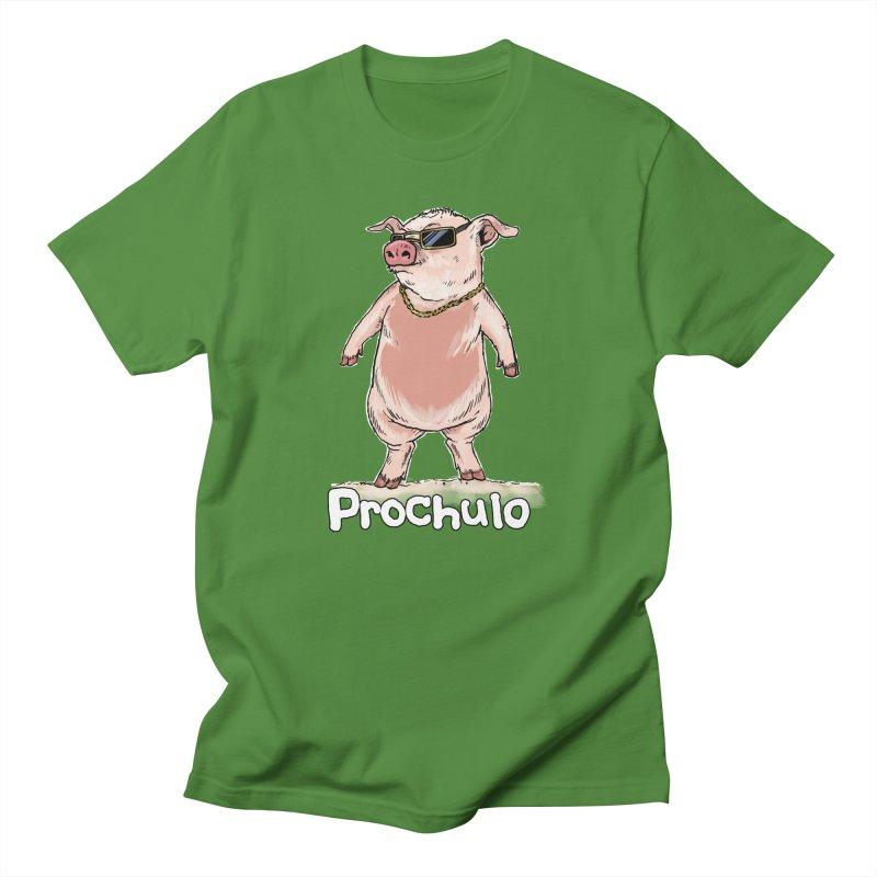 Proschulo Dark  Men's T-Shirt by Pigment World Artist Shop