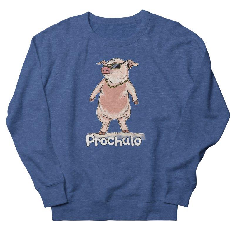 Proschulo Dark  Men's French Terry Sweatshirt by Pigment World Artist Shop