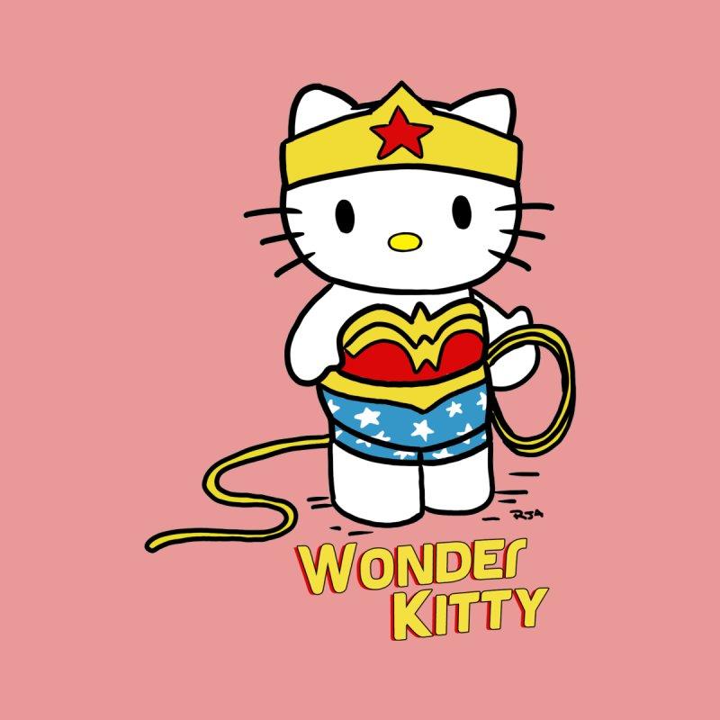 Wonder Kitty Women's Tank by Pigment World Artist Shop
