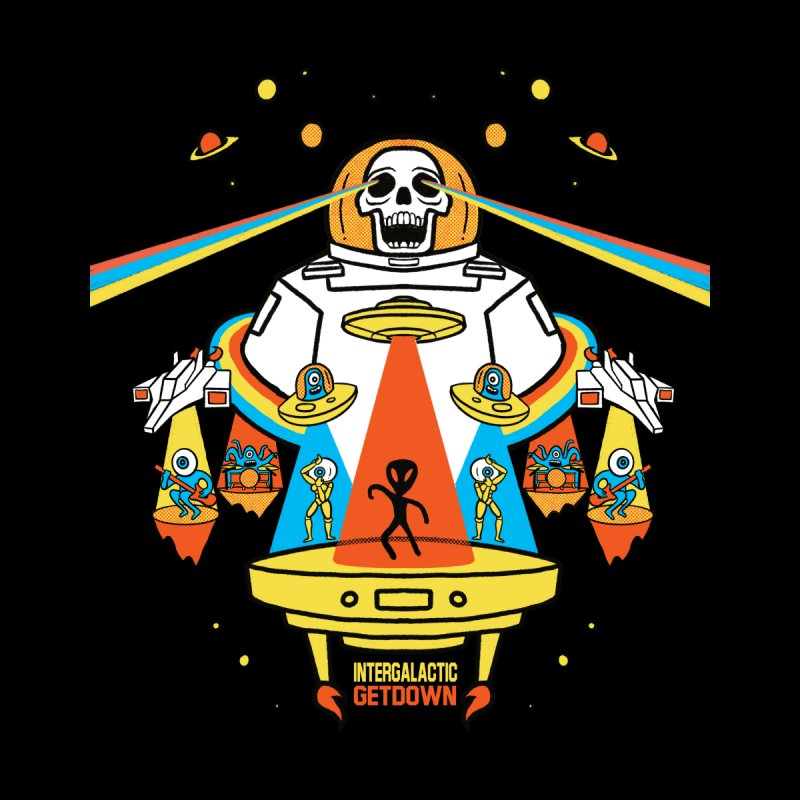 Intergalactic Get Down Men's T-Shirt by RJ Artworks's Artist Shop