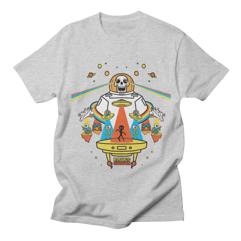 Intergalactic Get Down Men's T-Shirt by RJ Artworks's Artist Shop