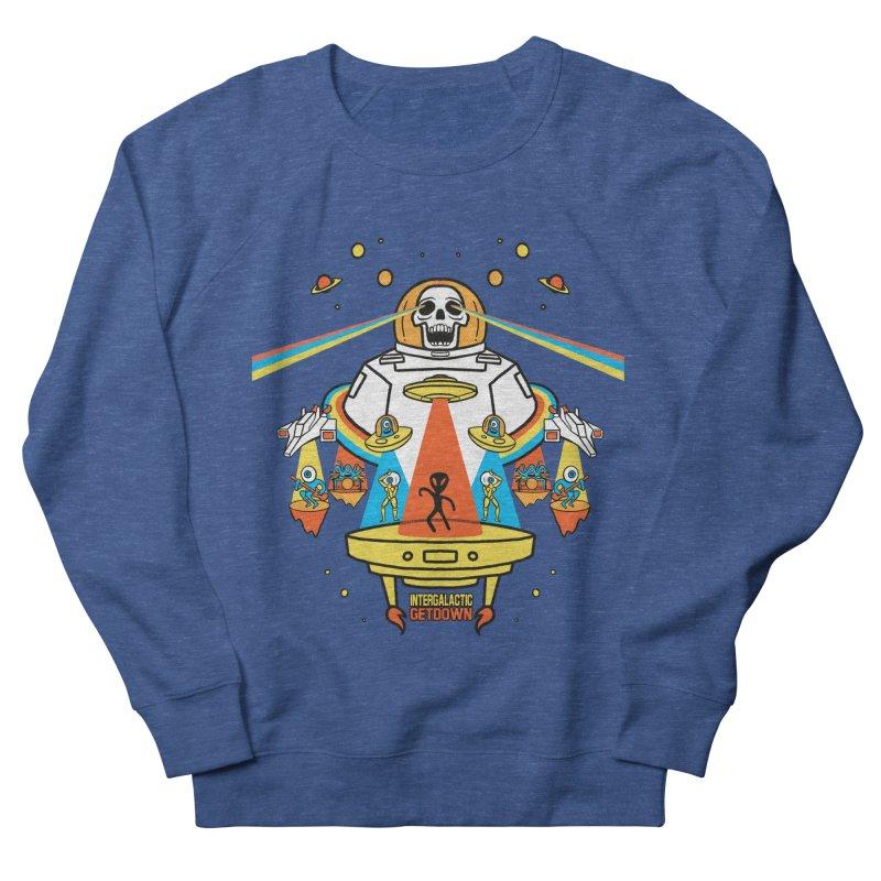 Intergalactic Get Down Men's Sweatshirt by RJ Artworks's Artist Shop