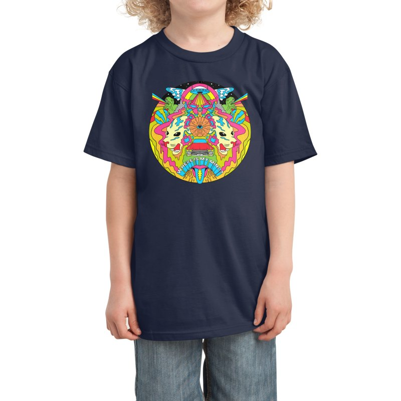 Where is my Mind? Kids T-Shirt by RJ Artworks's Artist Shop