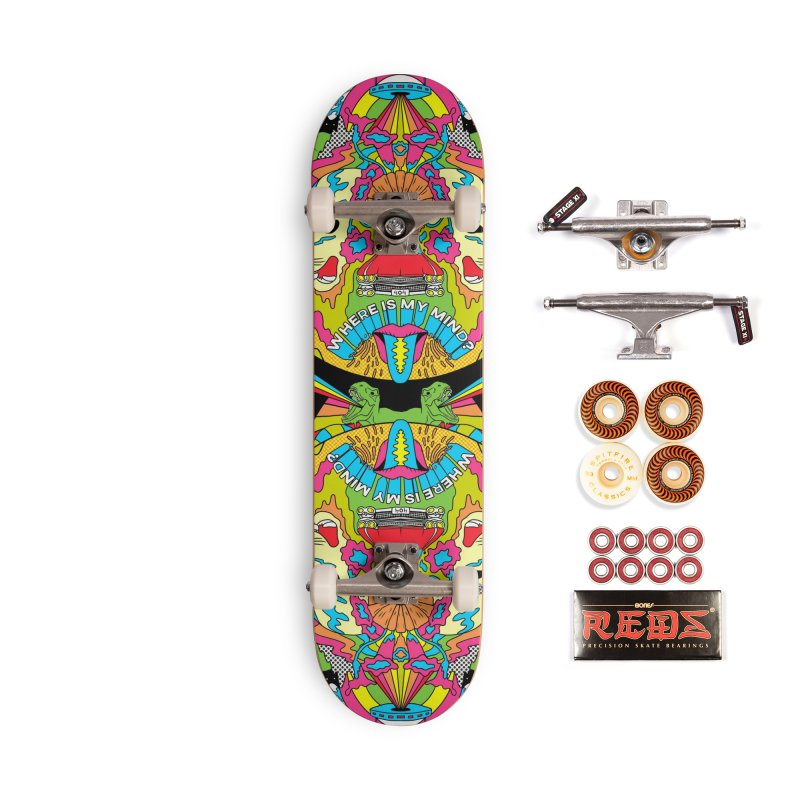 Where is my Mind? Accessories Skateboard by RJ Artworks's Artist Shop