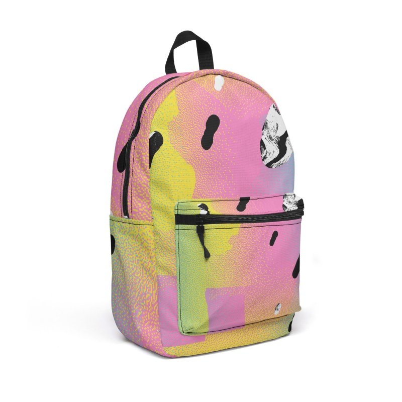 Retro Vision Accessories Backpack Bag by RJ Artworks's Artist Shop