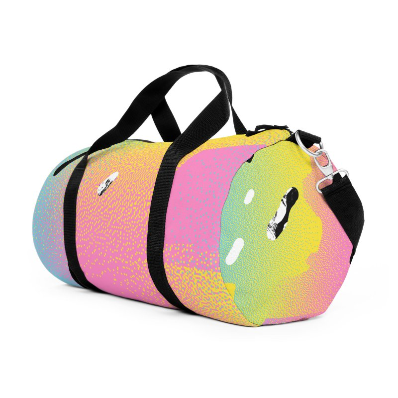 Retro Vision Accessories Duffel Bag Bag by RJ Artworks's Artist Shop