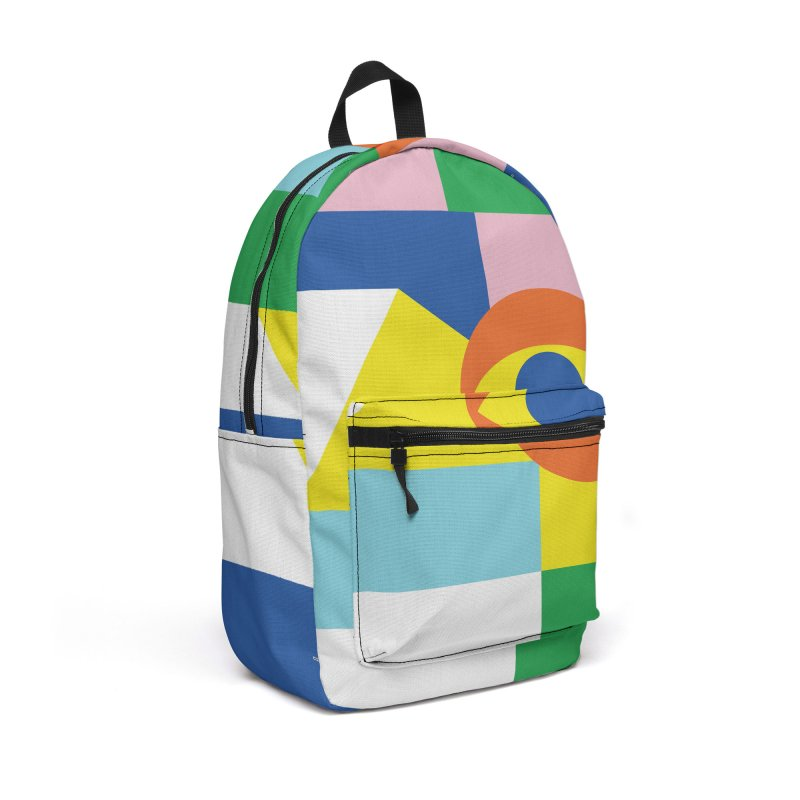 Abstract Eye Accessories Backpack Bag by RJ Artworks's Artist Shop