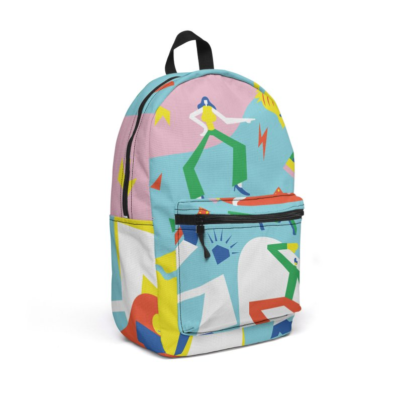Happy Times Accessories Backpack Bag by RJ Artworks's Artist Shop