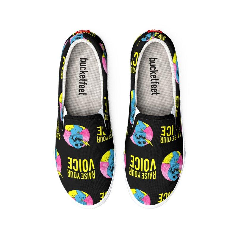 Raise Your Voice Men's Shoes by RJ Artworks's Artist Shop