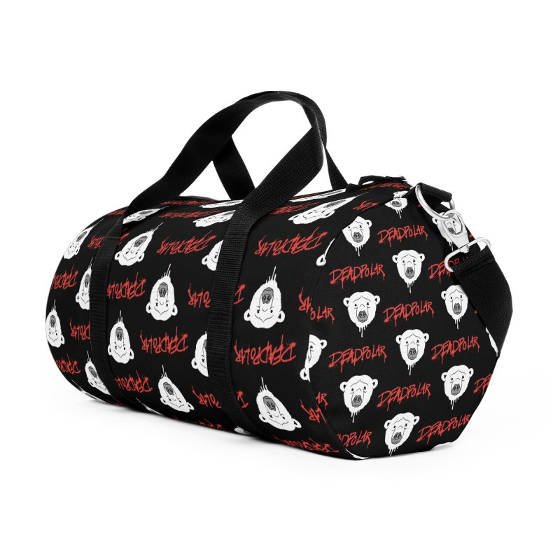 Deadpolar Accessories Duffel Bag Bag by RJ Artworks's Artist Shop