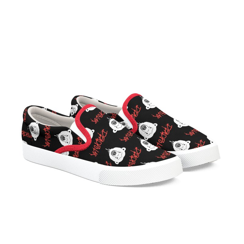 Deadpolar Women's Slip-On Shoes by RJ Artworks's Artist Shop