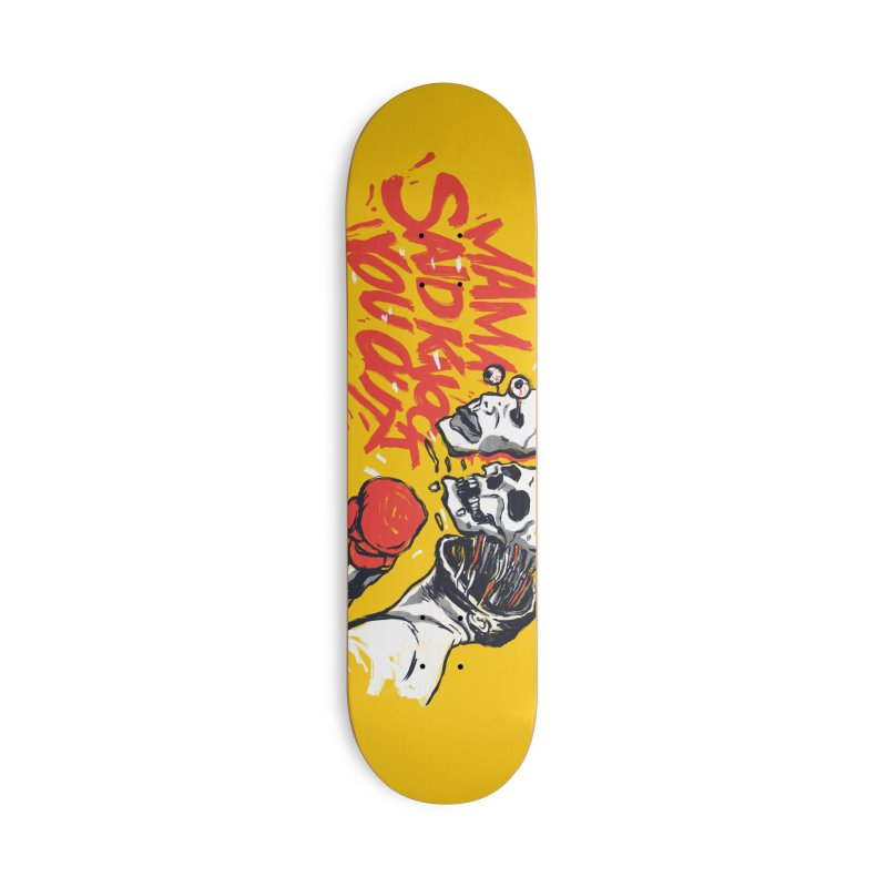 The Knockout Punch Accessories Skateboard by RJ Artworks's Artist Shop