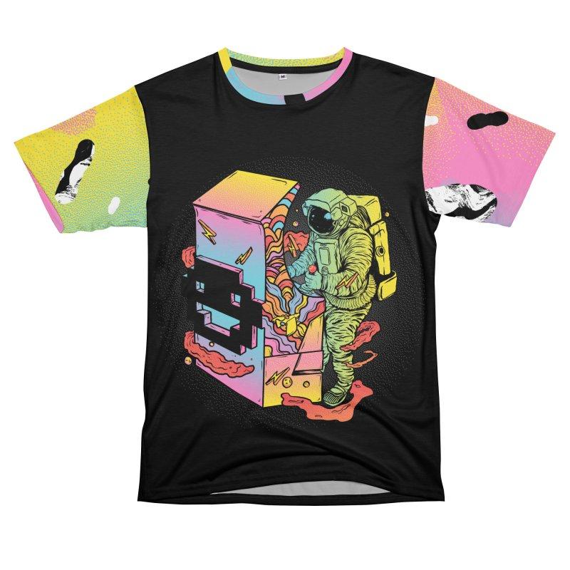 Space Arcade Men's T-Shirt Cut & Sew by RJ Artworks's Artist Shop