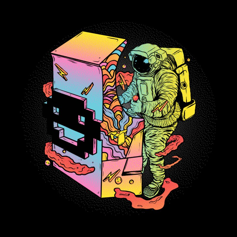 Space Arcade by RJ Artworks's Artist Shop