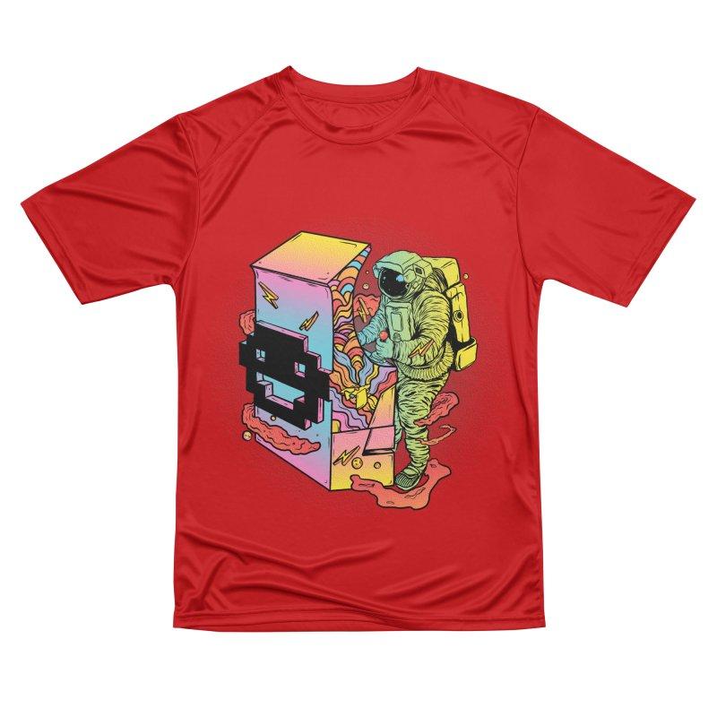 Space Arcade Men's Performance T-Shirt by RJ Artworks's Artist Shop