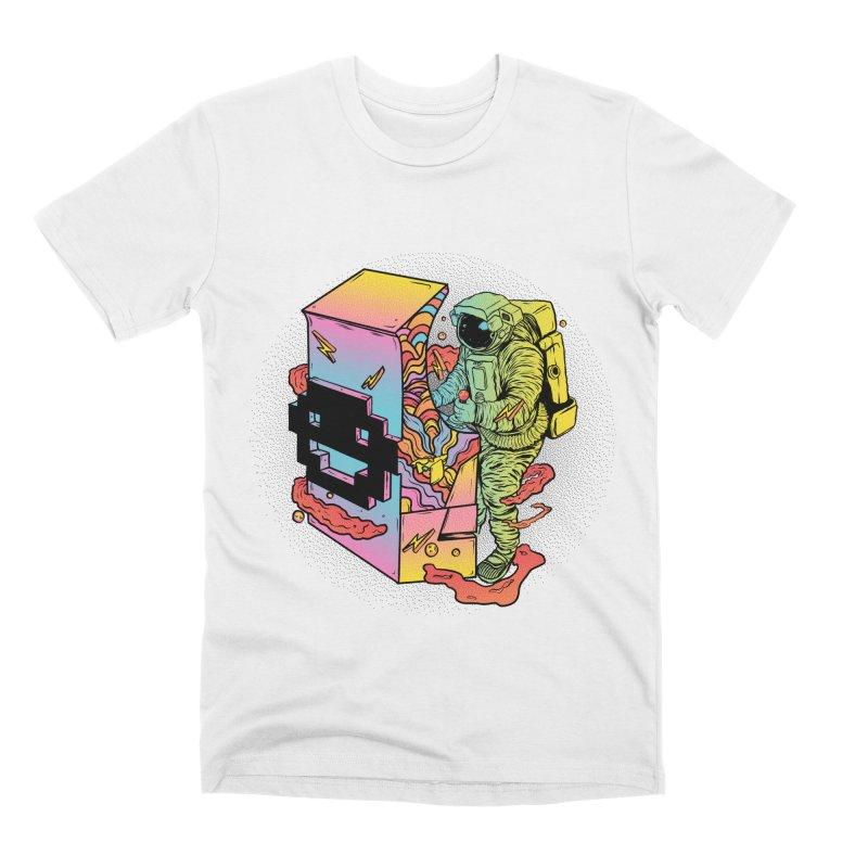 Space Arcade Men's Premium T-Shirt by RJ Artworks's Artist Shop