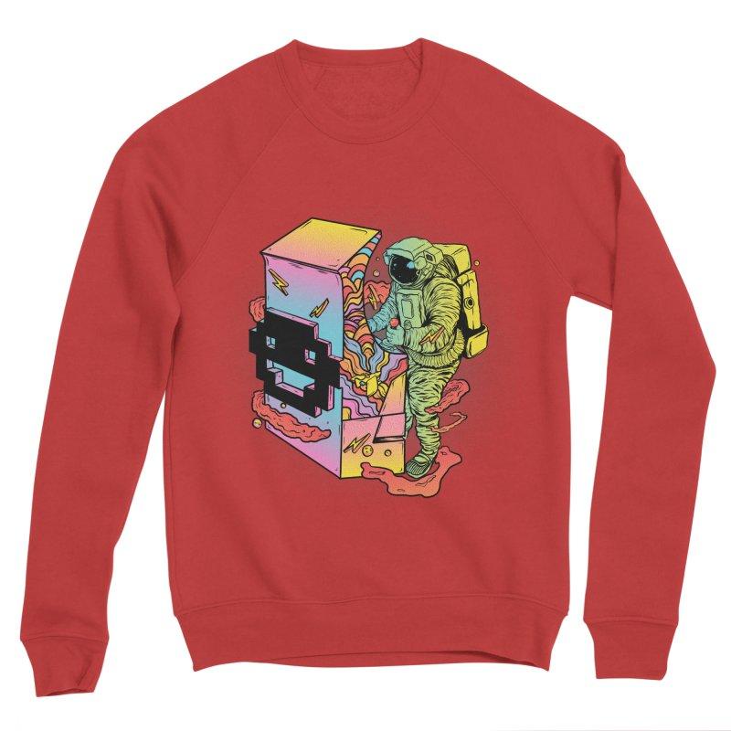 Space Arcade Women's Sponge Fleece Sweatshirt by RJ Artworks's Artist Shop