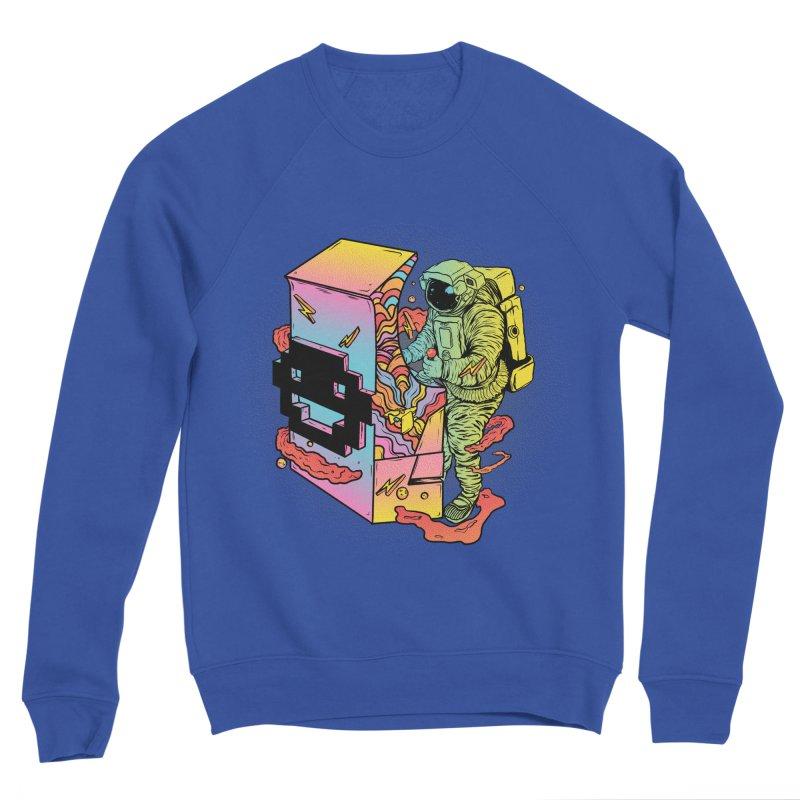 Space Arcade Men's Sponge Fleece Sweatshirt by RJ Artworks's Artist Shop