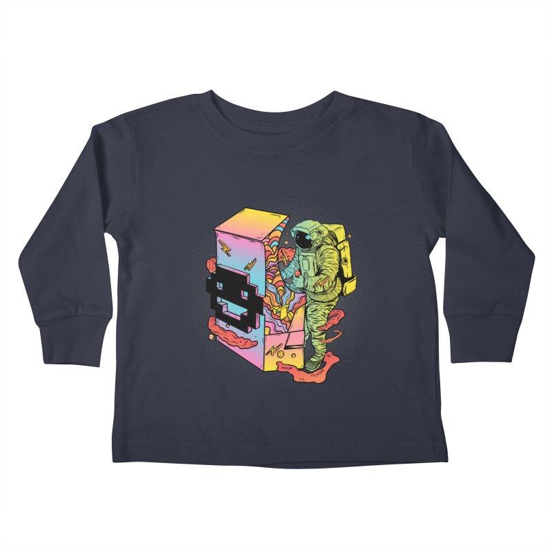 Space Arcade Kids Toddler Longsleeve T-Shirt by RJ Artworks's Artist Shop