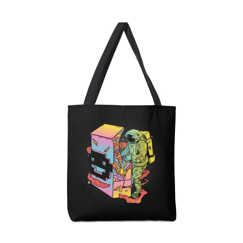 Space Arcade Accessories Tote Bag Bag by RJ Artworks's Artist Shop