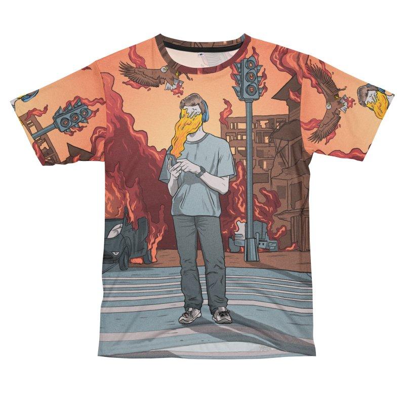 APPocalypse Men's T-Shirt Cut & Sew by RJ Artworks's Artist Shop