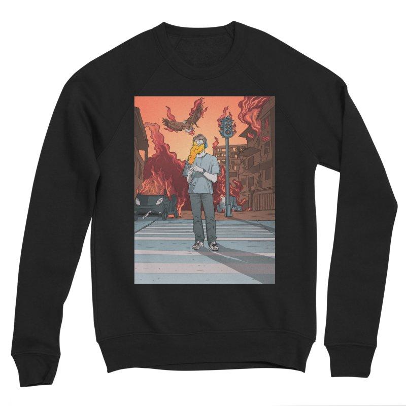 APPocalypse Men's Sponge Fleece Sweatshirt by RJ Artworks's Artist Shop