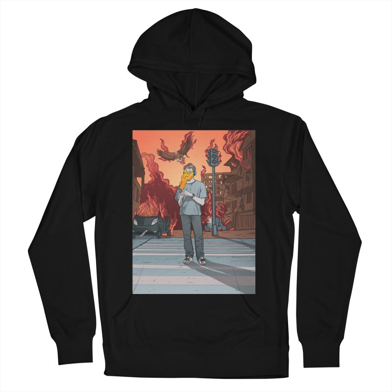 APPocalypse Men's French Terry Pullover Hoody by RJ Artworks's Artist Shop