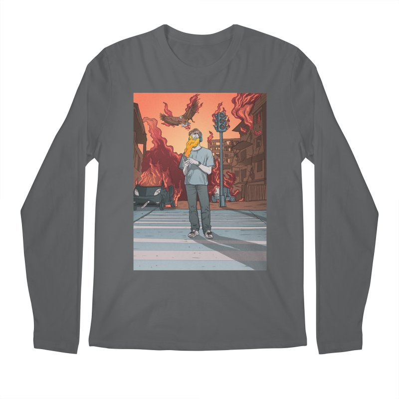 APPocalypse Men's Regular Longsleeve T-Shirt by RJ Artworks's Artist Shop