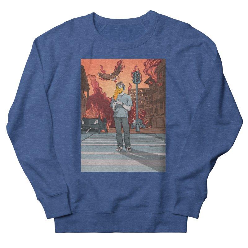 APPocalypse Men's French Terry Sweatshirt by RJ Artworks's Artist Shop