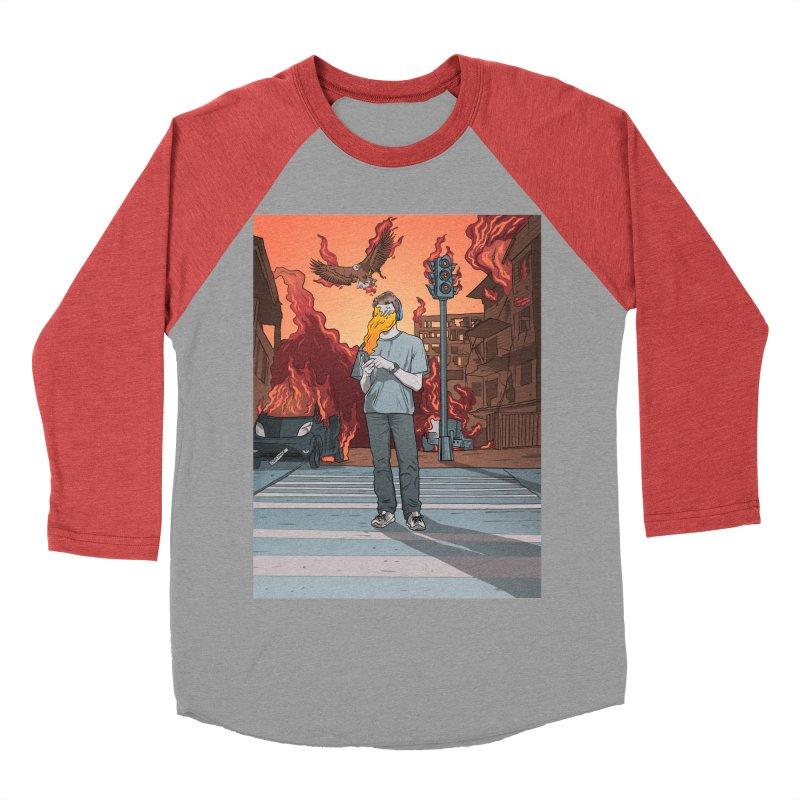 APPocalypse Women's Baseball Triblend Longsleeve T-Shirt by RJ Artworks's Artist Shop